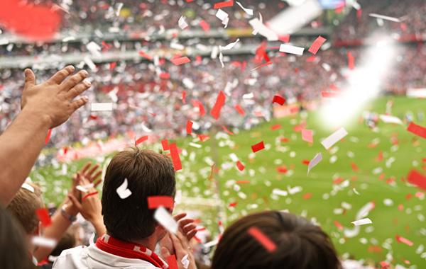 ファンの歓声